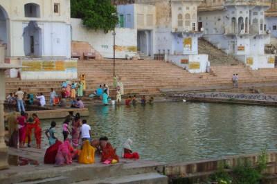 Ghat di Pushkar - India
