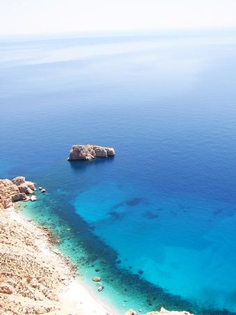 spiagge Cicladi: Amorgos