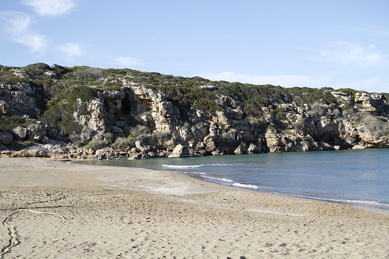 spiaggia calamosche, sicilia