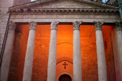 visitare Assisi: lato profano