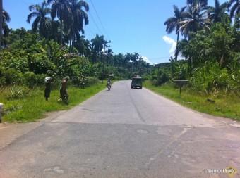 Cuba, strada verso Baracoa