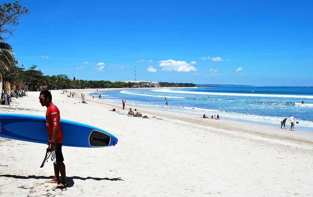 Bali, spiaggia di Kuta