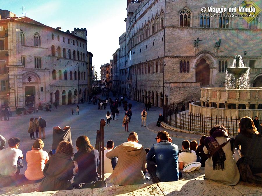 cosa vedere a Perugia: piazza IV Novembre