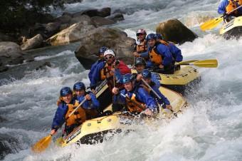 Trentino, rafting
