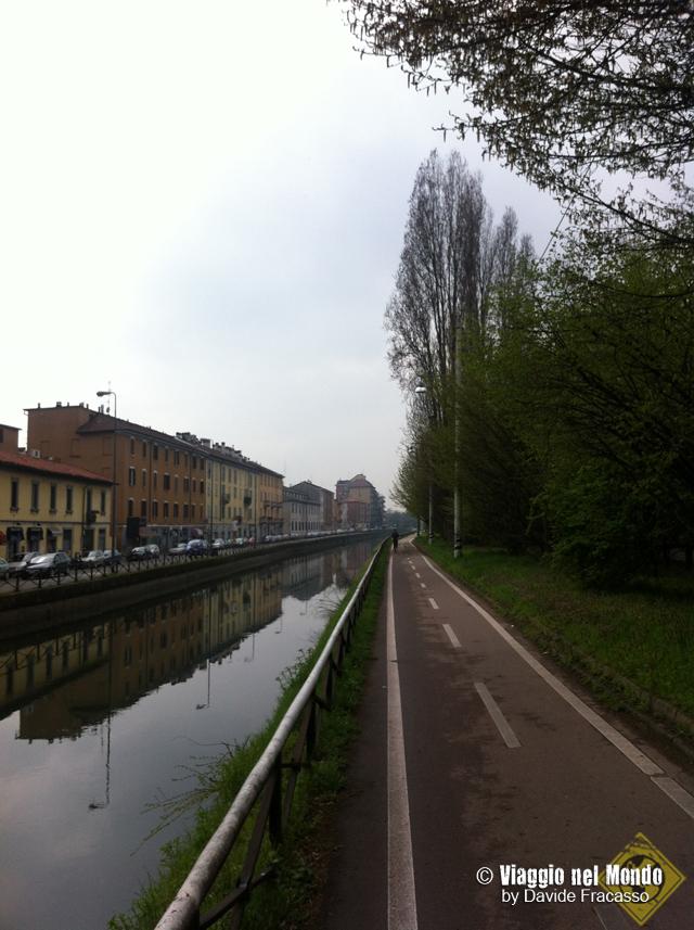 Milano, running - naviglio grande