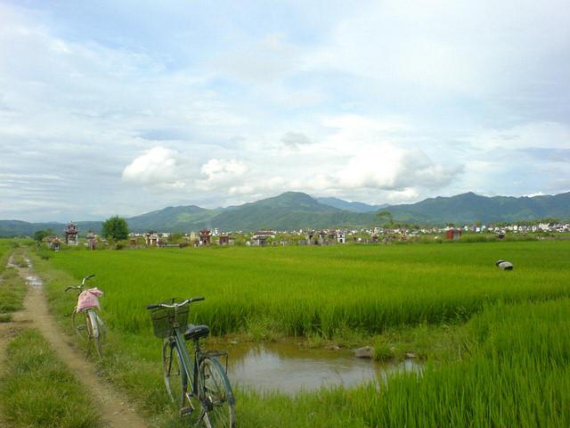 Dien Bien Phu, confine Vietnam e Laos