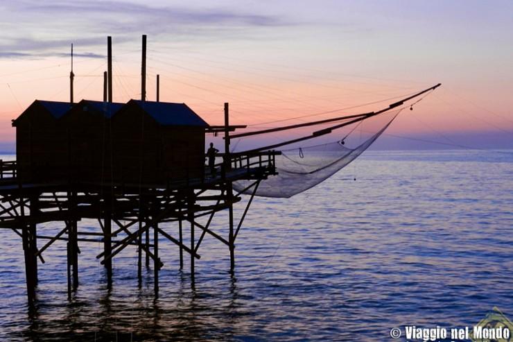 Termoli: trabucco sul mare