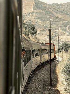 Douro in treno