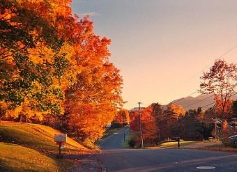 Vacanze d'autunno, New England