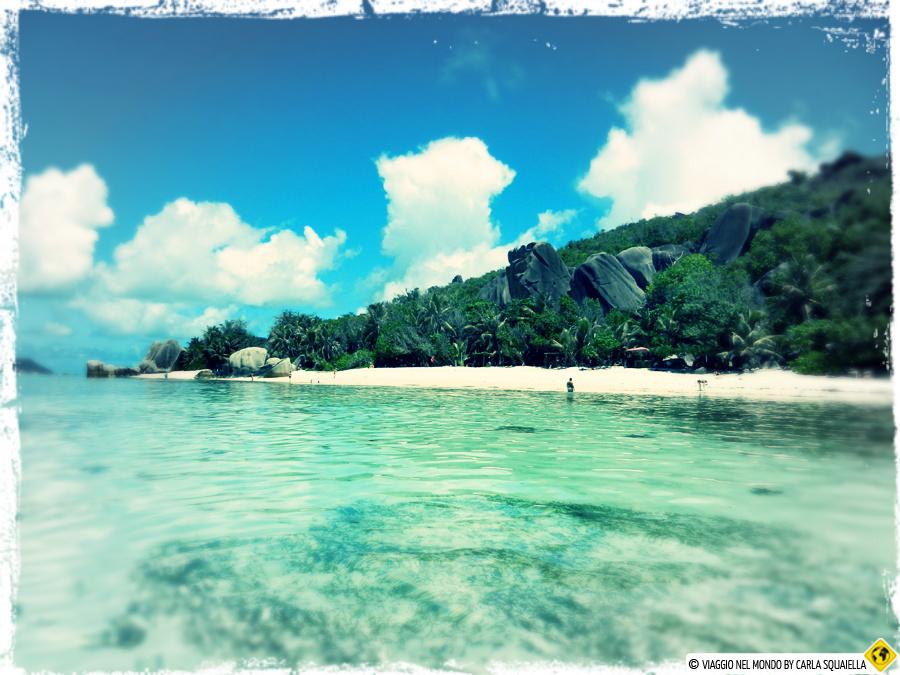 La Digue spiagge Seychelles