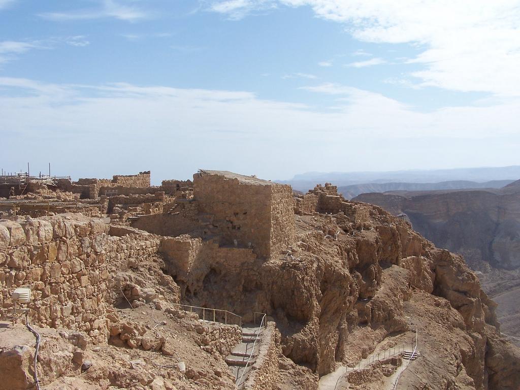 Masada, la fortezza