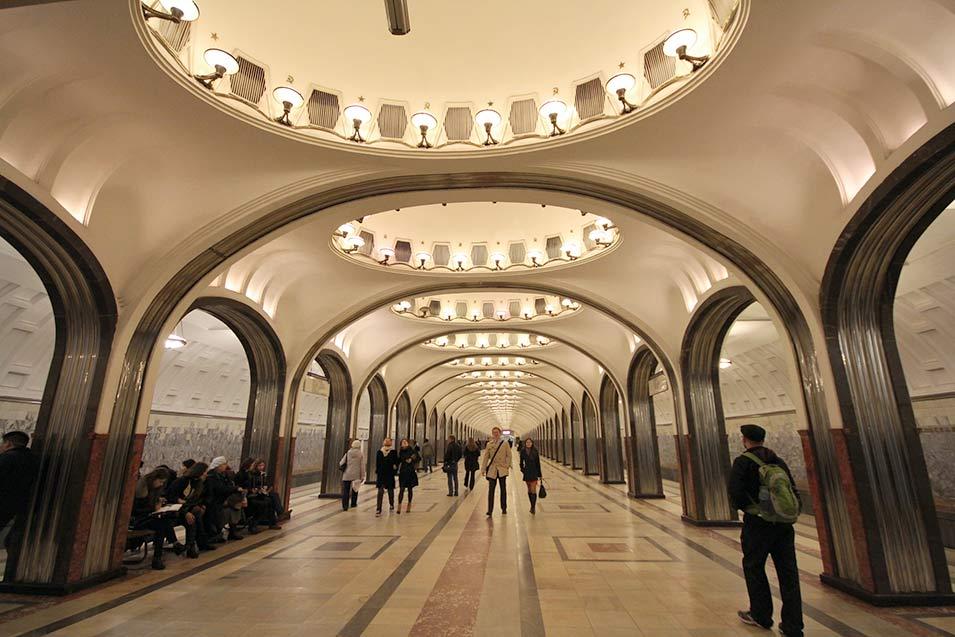 Mosca, metropolitana
