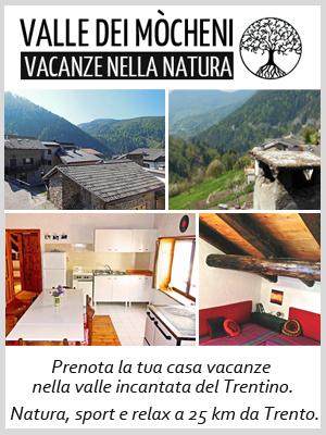 Valle dei Mocheni, casa vacanze