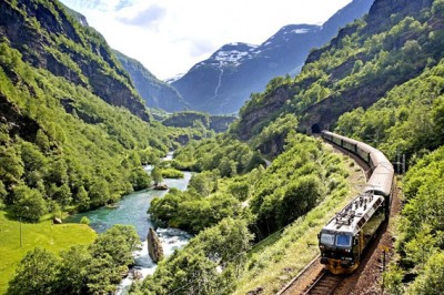 Flam, Norvegia - il viaggio in treno più bello