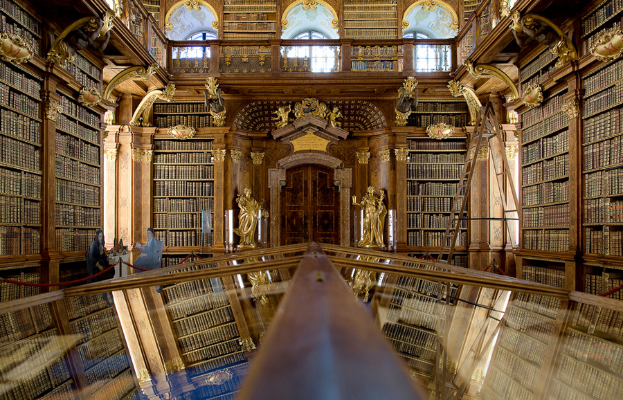 biblioteca abbazia di Melk