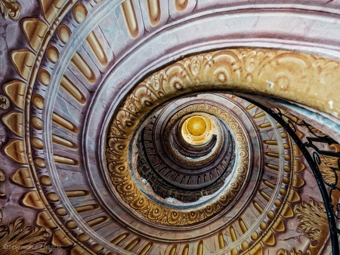 scalinata abbazia di Melk