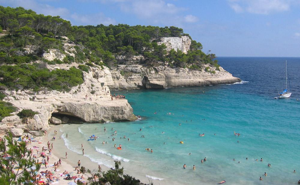 spiagge Minorca: Cala Mitjana