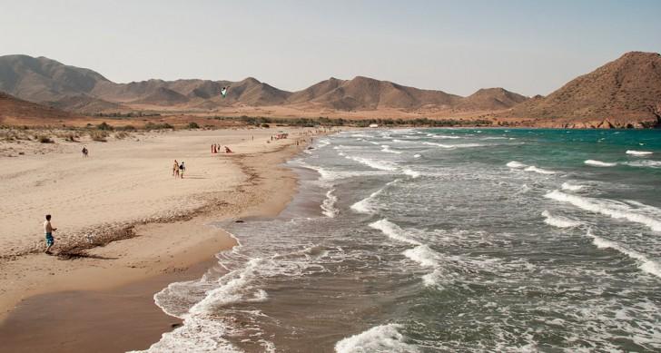 spiagge Spagna - Playa de los Genoveses - Cabo de Gata