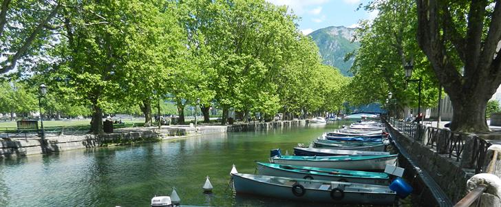 Annecy - Jardins de l'Europe