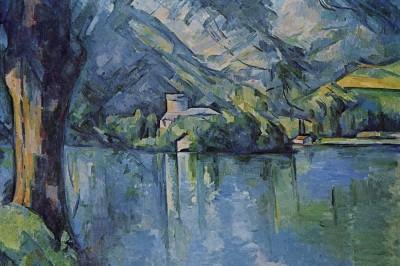 Lago di Annecy, Cezanne