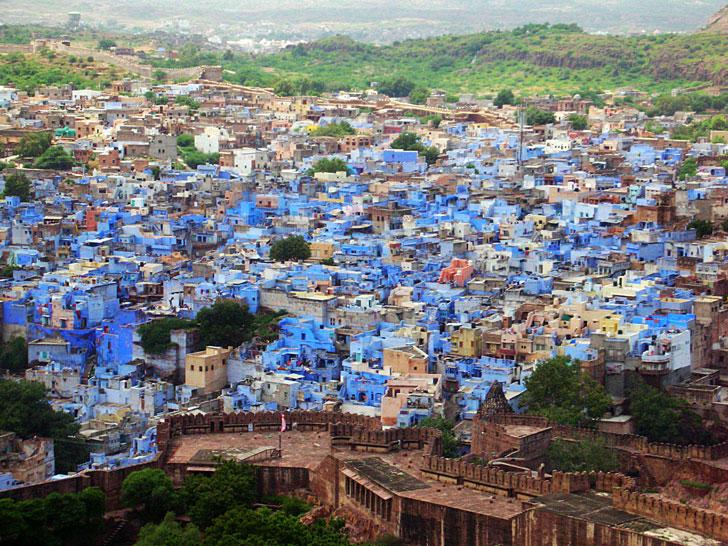 jodhpur, la città blu del Rajasthan