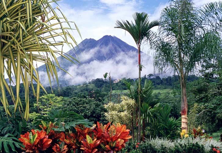 Costa Rica, Parco Vulcano Arenal