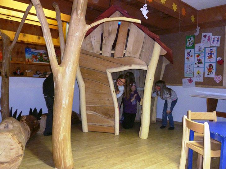 Hotel Putia, Area gioco bambini