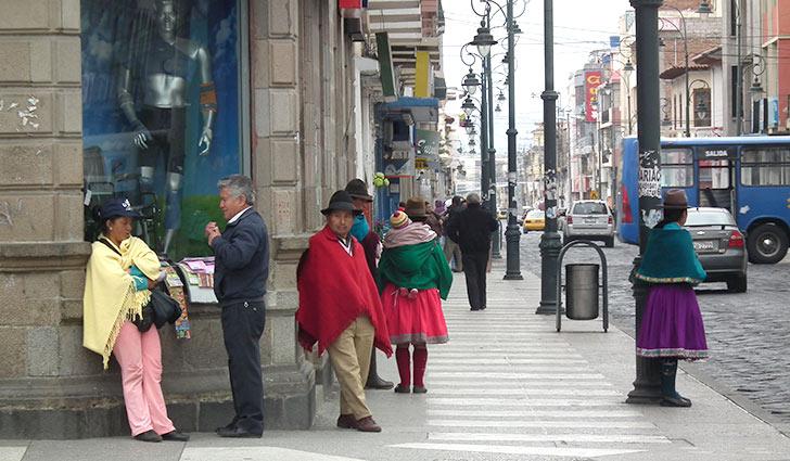 Ecuador, viaggio