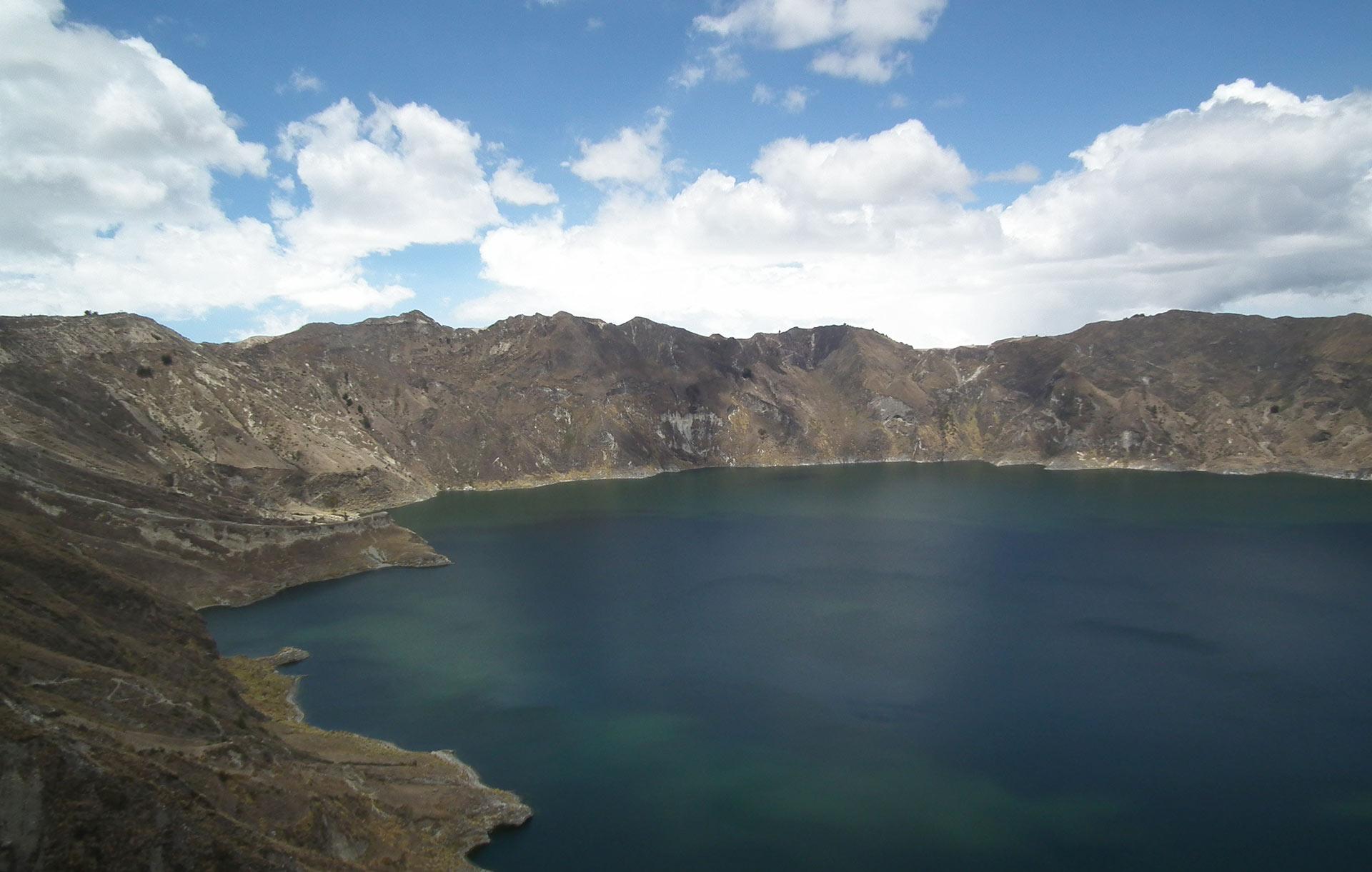 Laguna Quiolotoa, Ecuado