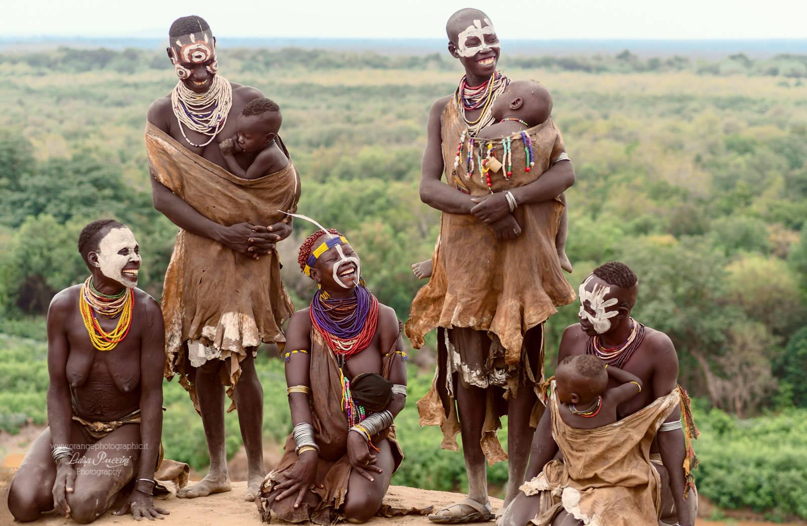 foto di viaggio: i Karo d'Etiopia