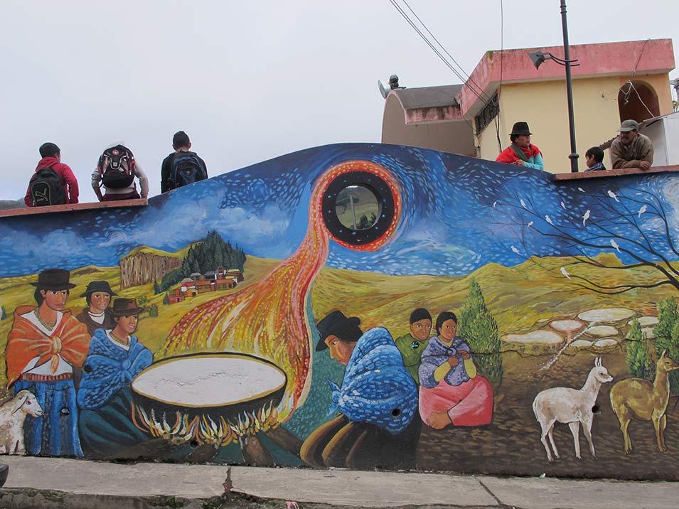 Murales a Salinas, Ecuador