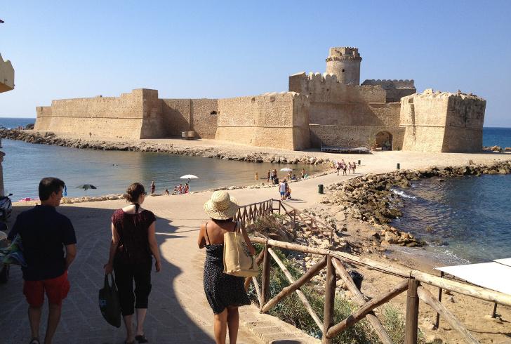 spiagge Calabria - Le Castella