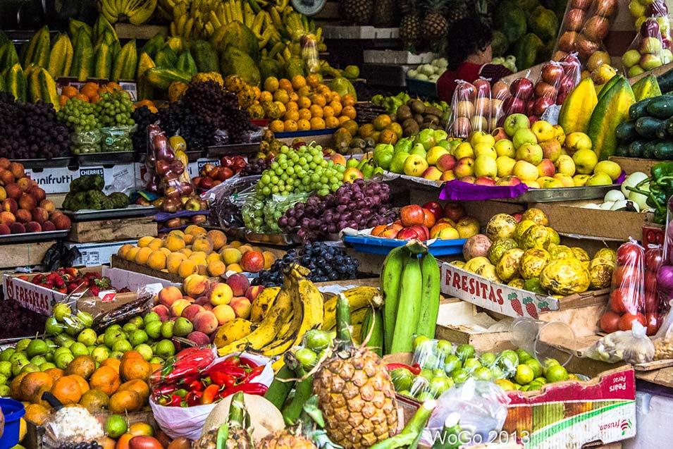 Mercato di Cuenca, Ecuador