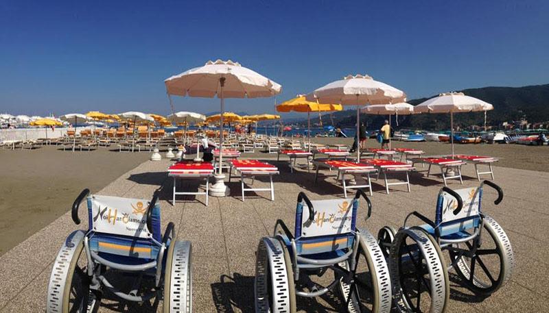 Sestri Levante, spiagge accessibili