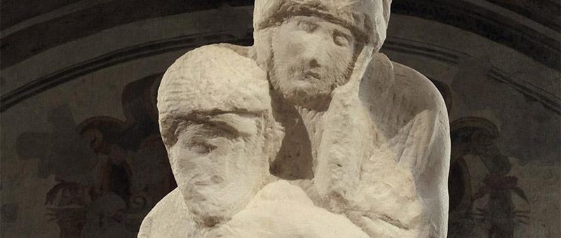 Pietà Rondanini di Michelangelo, Castello Sforzesco, Milano