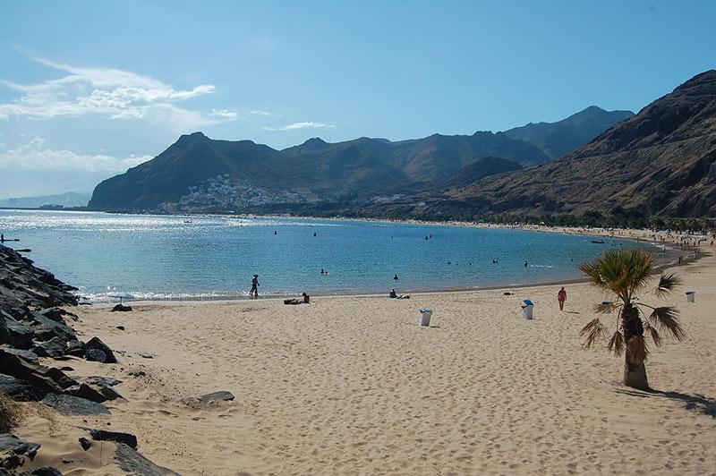 Santa Cruz de Tenerife, spiaggia Las Teresitas