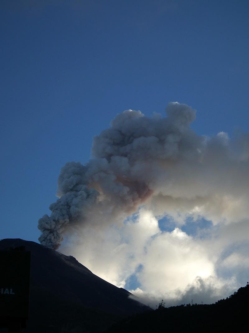 Vulcano Tungurahua