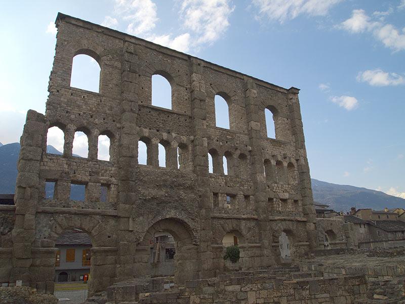 Aosta, Teatro Romano