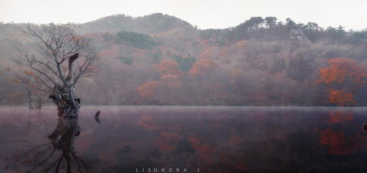 lago Jusanji Sud Corea
