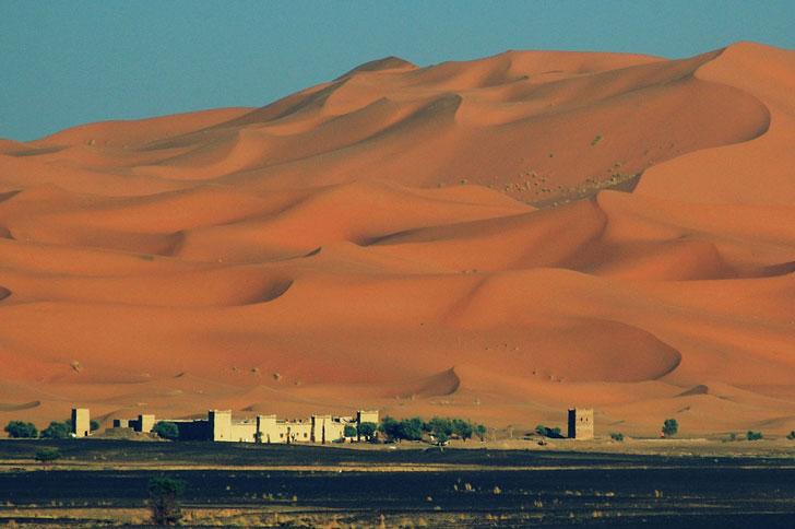 Merzouga, location film Marocco