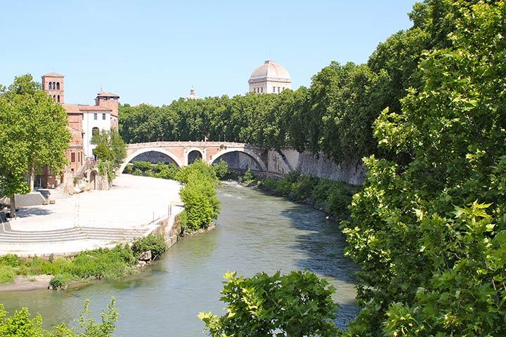 Roma romantica, Isola Tiberina