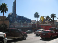 Hollywood blvd, Los Angeles