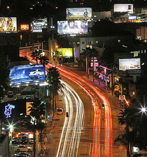 Los Angeles, Sunset Boulevard