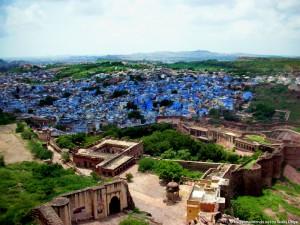 Viaggio in India: Jhodpur, la città blu