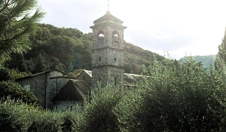 Abbazia di Piona, lago di Como