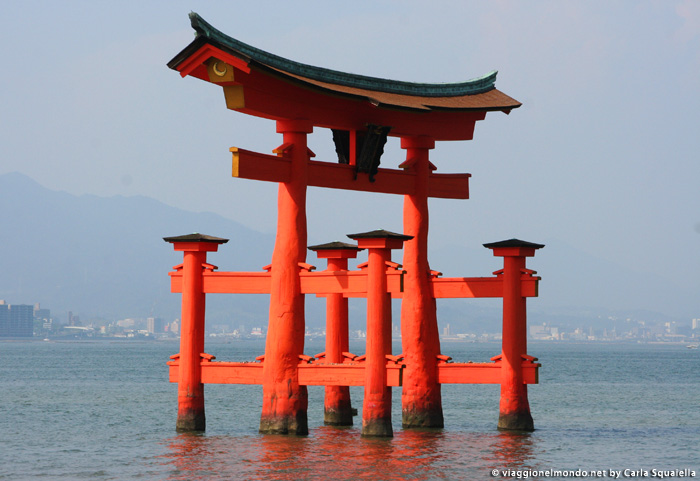 Torii rosso - Miya jima | Giappone