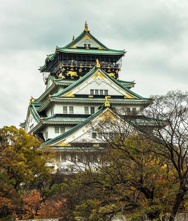 castello Osaka-jo
