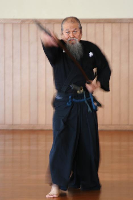 Mestro di Iaido - Giappone