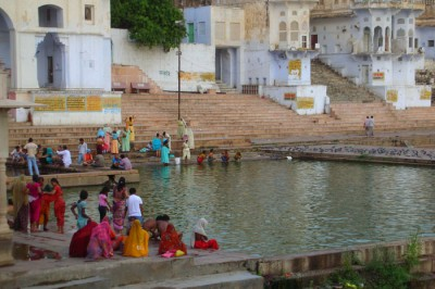 Ghat di Pushkar - India