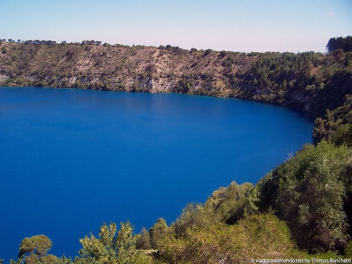 Blue Lake - Mont Cambier, Australia